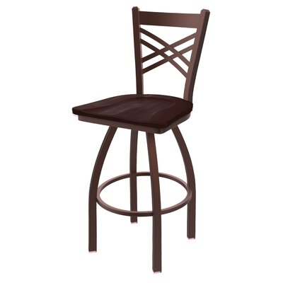 Wondrous Alcott Hill Daniela 36 Swivel Bar Stool Base Finish Bronze Evergreenethics Interior Chair Design Evergreenethicsorg