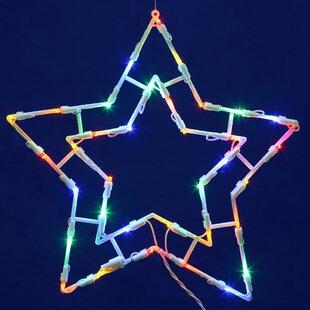 Vickerman Star LED Window Décor