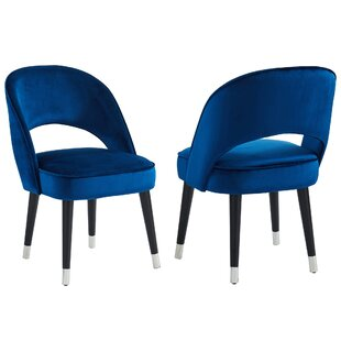 Elva Upholstered Dining Chair (Set of 2)
