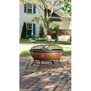 Darby Home Co Manhattan Steel Fire Pit