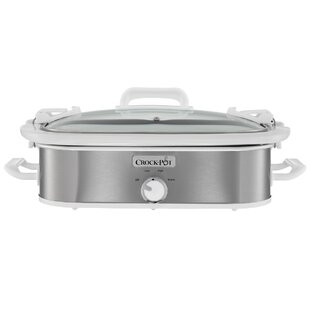 3.5-Quart Casserole Crock Slow Cooker