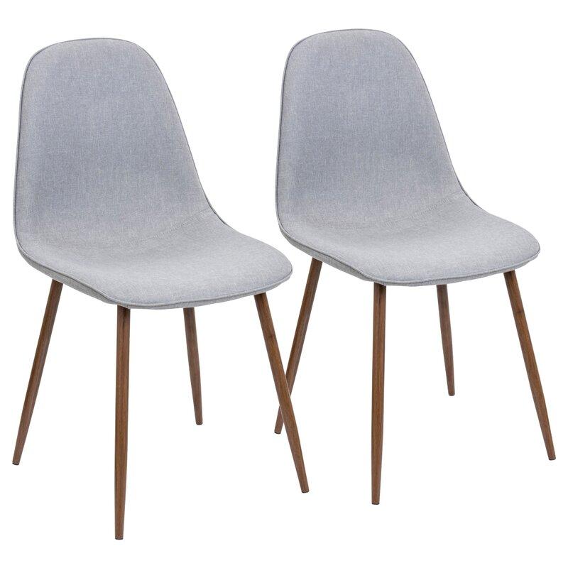 birdsall midcentury modern upholstered dining chair