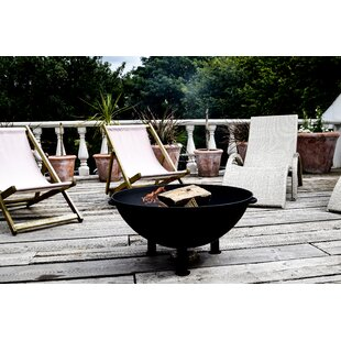 Hannam Cast Iron Wood Burning Fire Pit Image