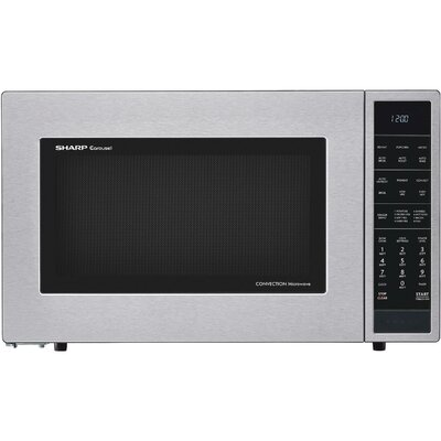 """Sharp 25"""" 1.5 cu.ft. Countertop Convection Microwave  Color: Stainless Steel"""