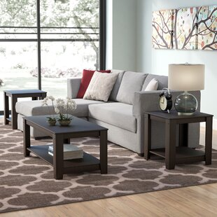 Cochrane 3 Piece Coffee Table Set & Coffee Table Sets Youu0027ll Love | Wayfair