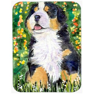 Heat Resistant Dog Glass Cutting Board