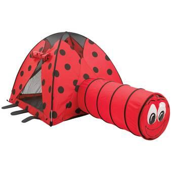 Gigatent Lily The Lady Bug Play Tent Spielzeug für draußen