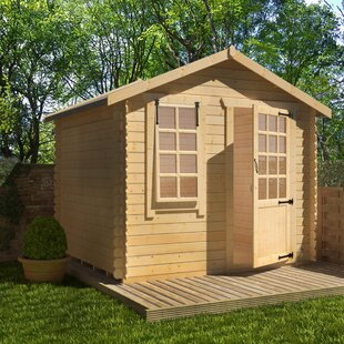 Olympia 10 X 8 Ft. Tongue And Groove Log Cabin By Tiger Sheds
