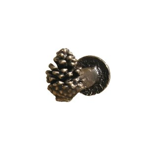 Lodgepole Pine Cone Curtain Holdback by Timber Bronze 53, LLC