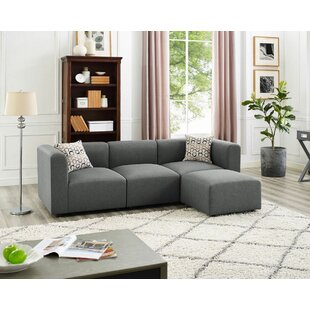 Jernigan Modular Sectional With Ottoman by Wrought Studio #1