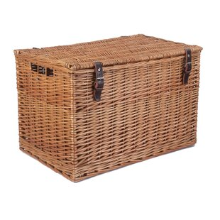 Double Steamed Chest Picnic Basket By Brambly Cottage