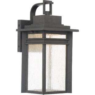Olveston 1-Light Outdoor Wall Lantern By Brayden Studio Outdoor Lighting