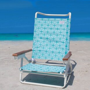 SittinPrettyLLC Oceana Storm Reclining Beach Chair