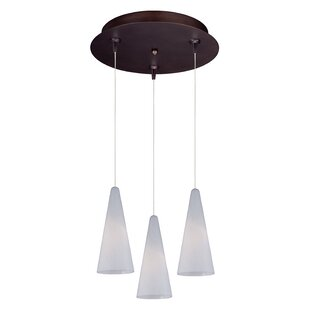 Echo Modern 3-Light Pendant by..