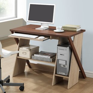 Baxton Studio Rhombus Computer Desk by Wholesale Interiors Office Furniture