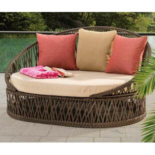 Agawam Daybed With Cushions by Bungalow Rose Sale