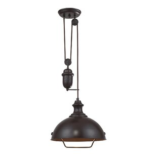 Legrand 1-Light Dome Pendant b..
