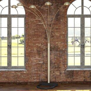 Brushed Steel Floor Lamp | Wayfair