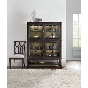 Curvee Lighted China Cabinet