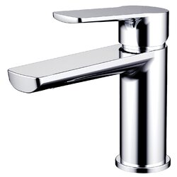 Bathroom Faucet Single Hole daweier single hole single handle bathroom faucet & reviews   wayfair