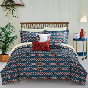 Fauna 10 Piece Reversible Comforter Set by World Menagerie