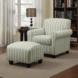 Compare Hummel Armchair and Ottoman by Alcott Hill Reviews (2019) & Buyer's Guide