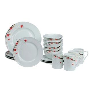 Adelbert 16 Piece Dinnerware Set, Service for 4