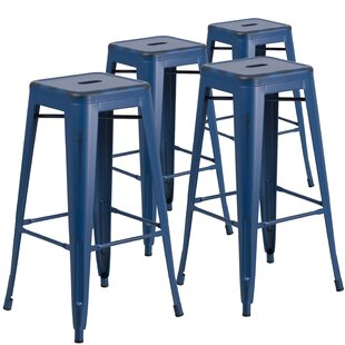 Hacker 30 Bar Stool (Set of 4) Brayden Studio