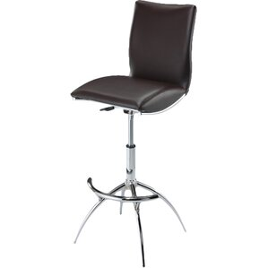 Guttenberg Adjustable Height Swivel Bar Stool (Set of 2) by Wade Logan