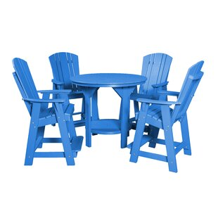 Rosecliff Heights Patricia Traditional 5 Piece Dining Set