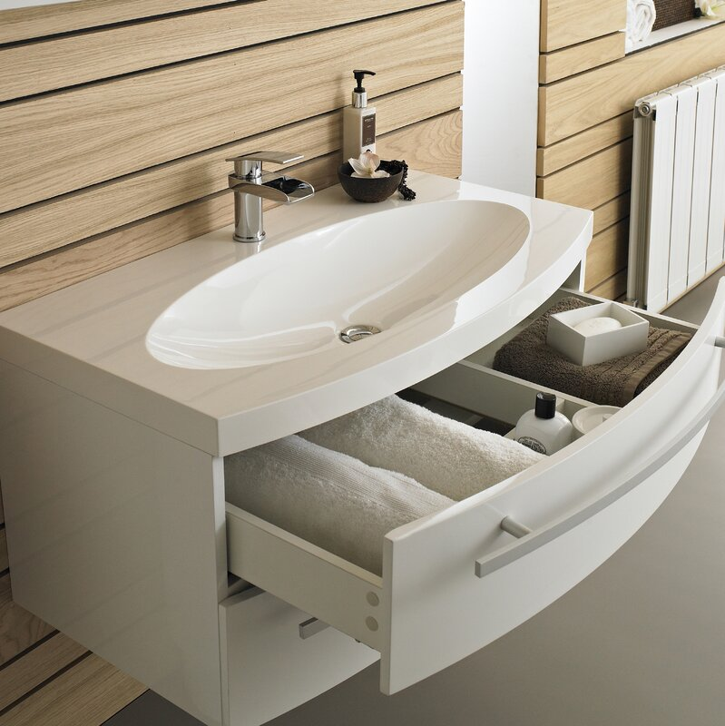 vanguard 914cm wall mounted vanity unit