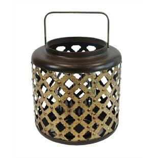 Mebane Gracious Metal Lantern by Bloomsbury Market