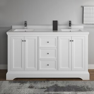 Windsor 60 Double Bathroom Vanity Set ByFresca
