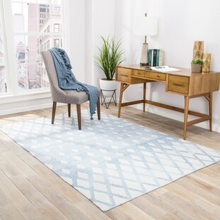 Heinz Blue/Cream Indoor/Outdoor Area Rug