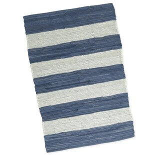 Shop for Province Hand-Woven Black/White Area Rug ByBreakwater Bay