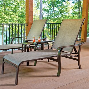 Villa Reclining Chaise Lounge (Set of 2)