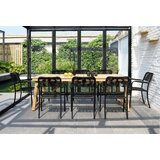 Darrah 9 Piece Teak Dining Set
