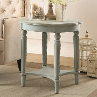 Review Jantz End Table by Ophelia & Co.