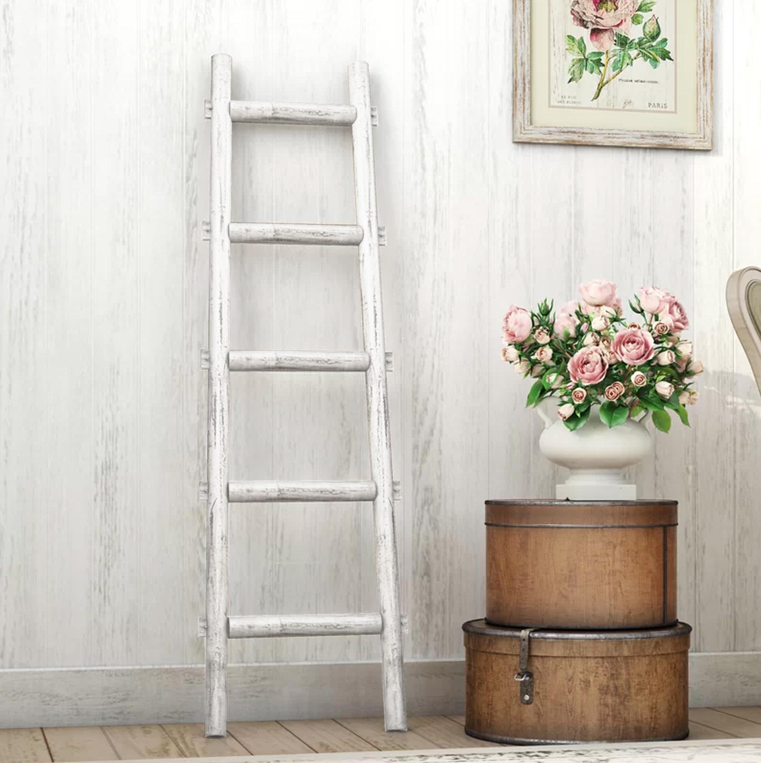 White Blanket Ladders Racks You Ll Love In 2021 Wayfair
