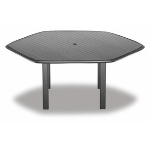 Check Out Aluminum Slate Hexagonal Chat Table Great Price