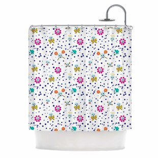 'Happy Skull' Single Shower Curtain