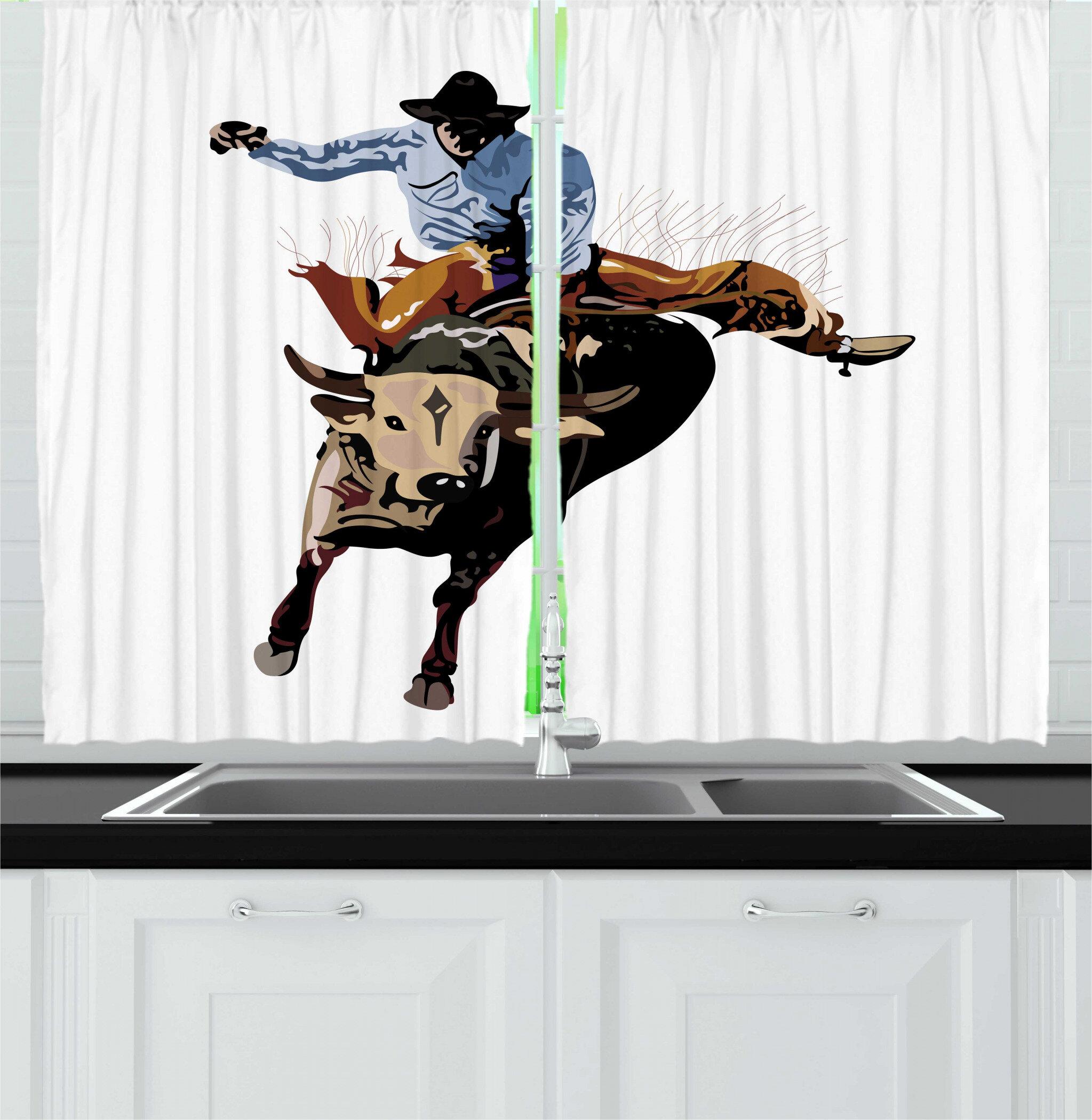 Western Valances Kitchen Curtains You Ll Love In 2021 Wayfair
