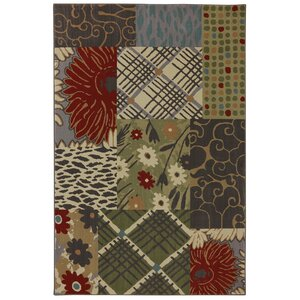 Symphony Emporia Patchwork Saddle Area Rug