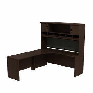 Series C 2 Piece L-Shape Corner Desk with Hutch