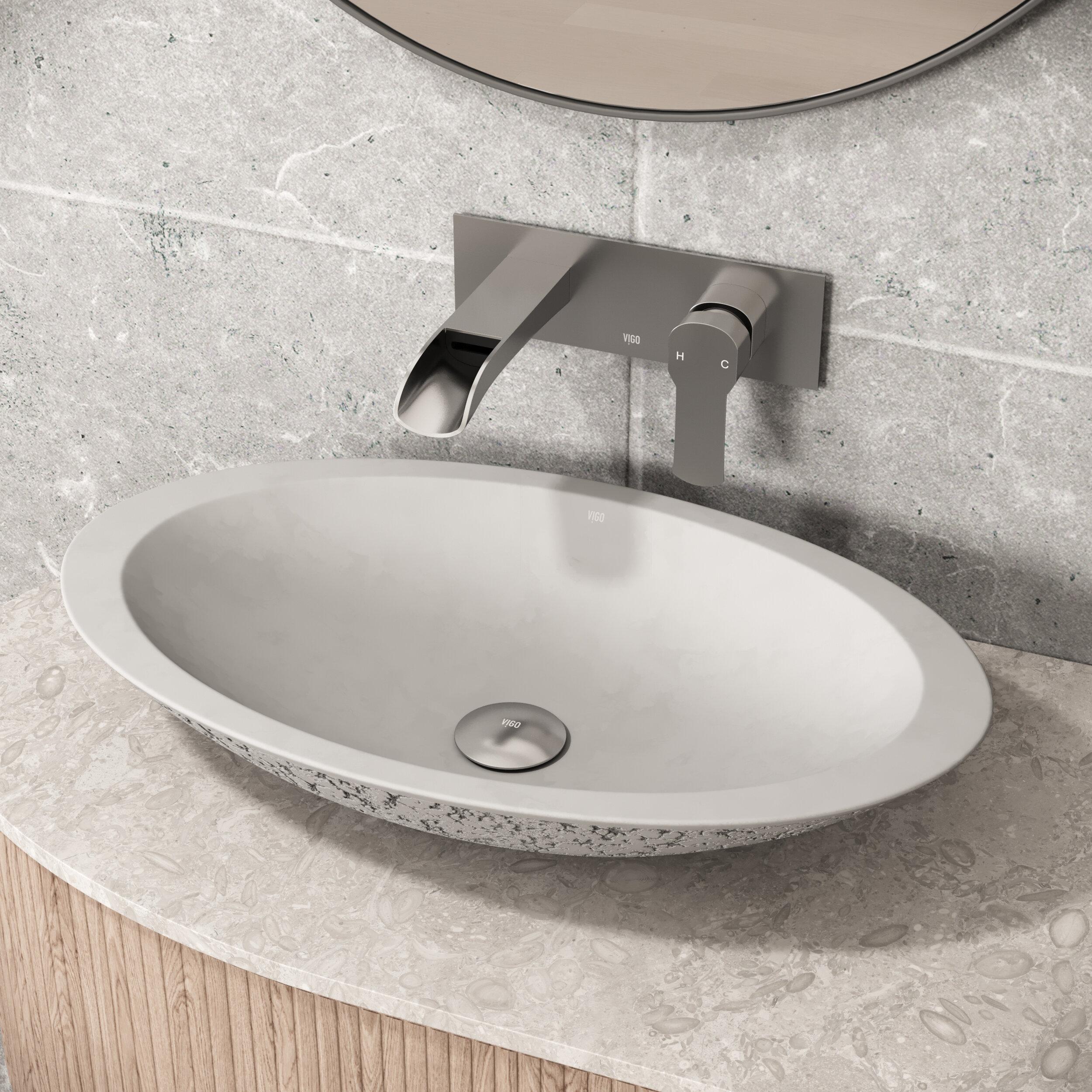 Granite Stone Bathroom Sinks You Ll Love In 2020 Wayfair