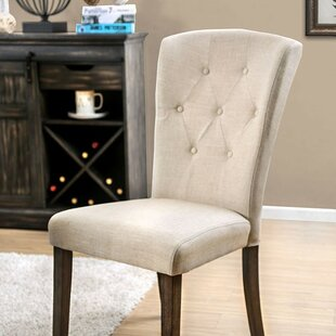 Jere Upholstered Dining Chair (Set of 2) by Canora Grey