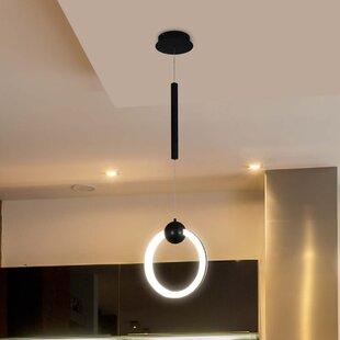 Northview 1-Light LED Geometric Pendant by Orren Ellis