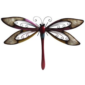 Wing Dragonfly Wall Décor