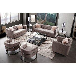 Crawford Configurable Sofa Set