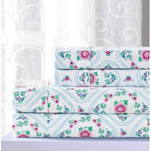 Otavio Floral Sheet Set